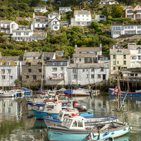 Buy canvas prints of Polperro, Cornwal by Paula Connelly