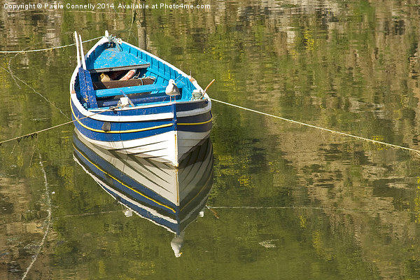 Rowing Boat Canvas Print by Paula Connelly
