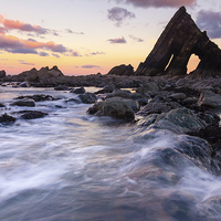 Buy canvas prints of The Blackchurch Rock II by Lee Thorne