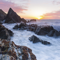 Buy canvas prints of Seascape II by Lee Thorne