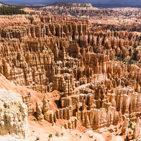 Buy canvas prints of   Bryce Canyon National Park Hoodoos by colin chalkley