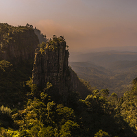 Buy canvas prints of  Pinnacle Rock - South Africa by colin chalkley