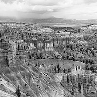 Buy canvas prints of The Silent City in Bryce Canyon - Mono by colin chalkley