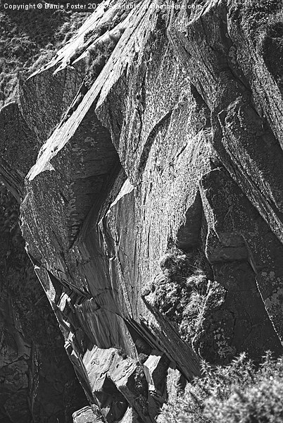 Rock of Ages Canvas print by Barrie Foster