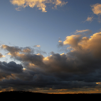 Buy canvas prints of  Storm Skies by Barrie Foster