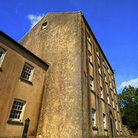 Buy canvas prints of  Blackpool Mill #2 by Barrie Foster