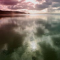Buy canvas prints of Newgale Moods #3 by Barrie Foster