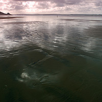 Buy canvas prints of Newgale Moods #4 by Barrie Foster
