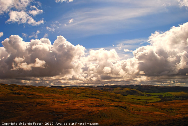 Teifi Headwaters Canvas print by Barrie Foster