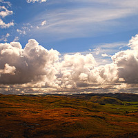 Buy canvas prints of Teifi Headwaters by Barrie Foster