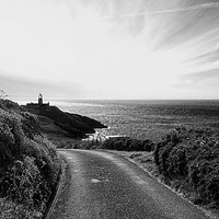 Buy canvas prints of Strumble Head Light by Barrie Foster