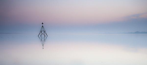 The Loughor Estuary Canvas print by Leighton Collins