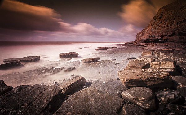 Southerndown, Welsh Heritage Coast Canvas Print by Leighton Collins