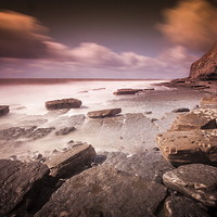 Buy canvas prints of Southerndown, Welsh Heritage Coast by Leighton Collins