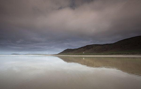 Rhossili bay Gower Canvas print by Leighton Collins