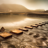 Buy canvas prints of Stepping stones by Leighton Collins