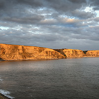 Buy canvas prints of South Wales Heritage Coast by Leighton Collins