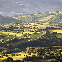 Buy canvas prints of Black Mountain farmland by Leighton Collins