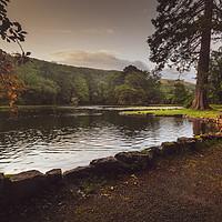 Buy canvas prints of Craig y Nos Country park by Leighton Collins