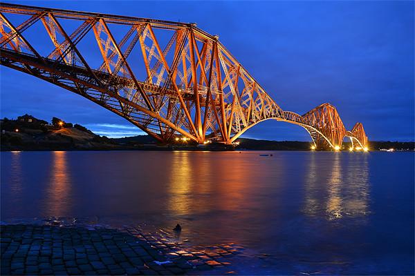 Forth Rail Bridge Scotland Canvas Print by jim wilson