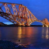 Buy canvas prints of Forth Rail Bridge Scotland by jim wilson