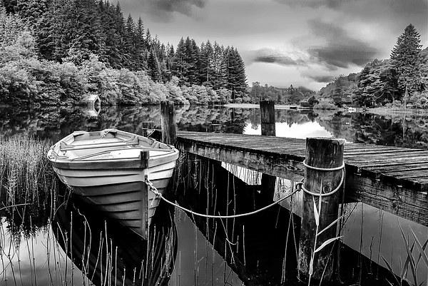 Loch Ard,The Trossachs,Scotland Canvas print by jim wilson