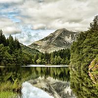 Buy canvas prints of Glencoe Lochan by jim wilson