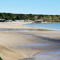 Buy canvas prints of Morfa Nefyn Beach, North Wales by Frank Irwin