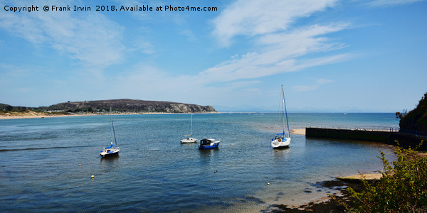 Anchorage - Abersoch harbour, North Wales Canvas Print by Frank Irwin