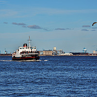 Buy canvas prints of Mersey Ferryboat Royal Daffodil by Frank Irwin