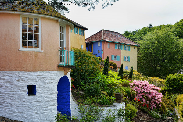 Typical architecture at Portmeirion Canvas print by Frank Irwin