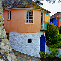 Buy canvas prints of Portmeirion, North Wales by Frank Irwin