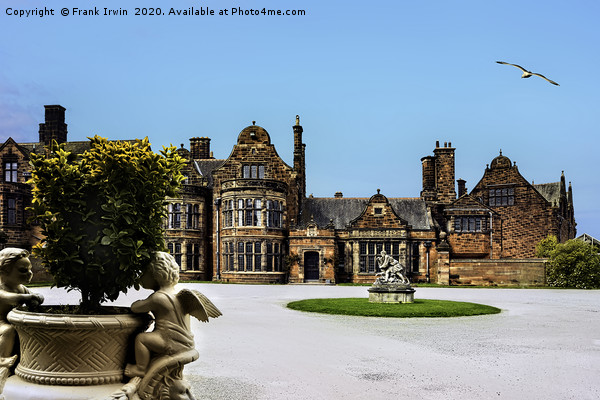 Thornton Manor, Wirral Canvas print by Frank Irwin