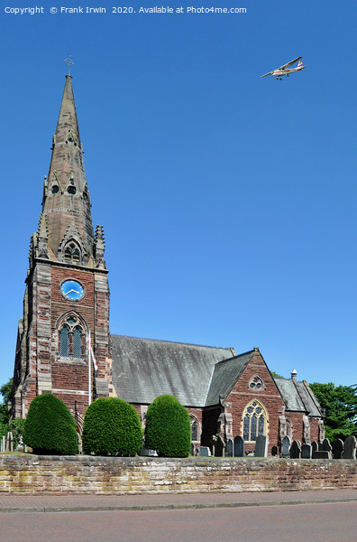All Saints Church, Thornton Hough, Wirral Canvas Print by Frank Irwin