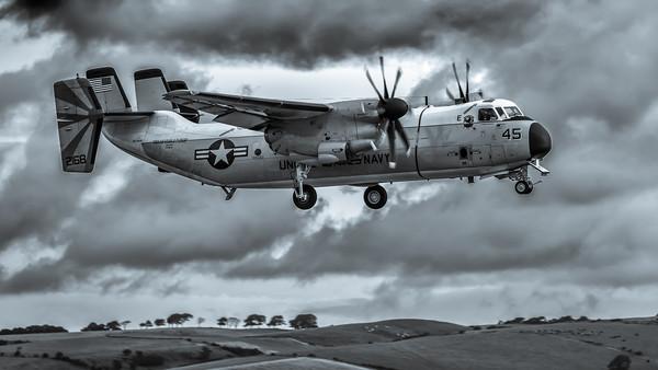 Grey Skies Greyhound Canvas print by Gareth Burge Photography