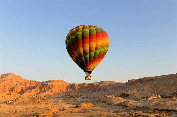 Egypt Balloon Acrylic by Adam Hodson