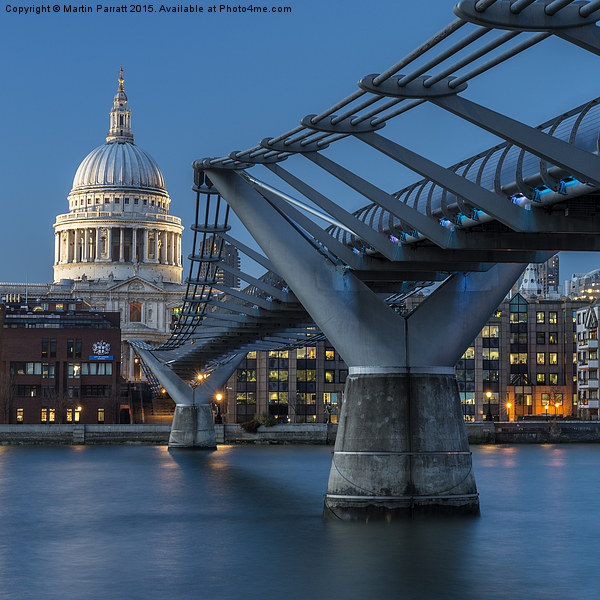 St Paul's Cathedral Canvas print by Martin Parratt