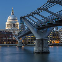 Buy canvas prints of  St Paul's Cathedral by Martin Parratt