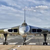 Buy canvas prints of XH558 Vulcan by Steev Stamford
