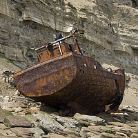 Buy canvas prints of Shipwreck by Steev Stamford