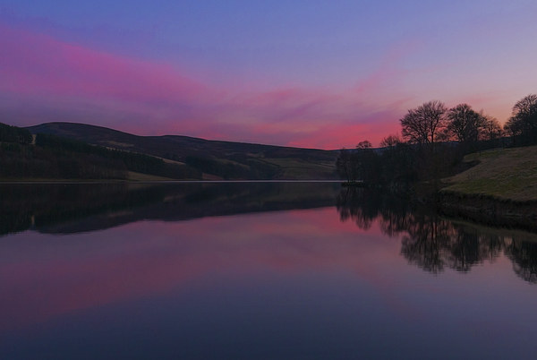 Goyt Valley Sunset Canvas print by Laura Kenny