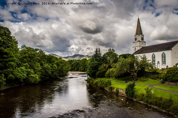 Comrie Canvas print by Laura Kenny