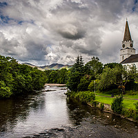Buy canvas prints of Comrie by Laura Kenny