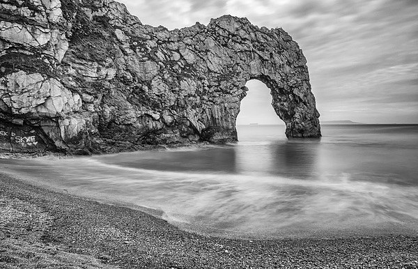 Durdle Door Canvas print by Gail Sparks
