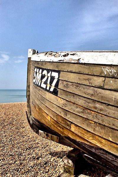 Boat at Brighton Beach Canvas print by Paul Austen