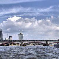Buy canvas prints of Blackfriars Bridge by Paul Austen