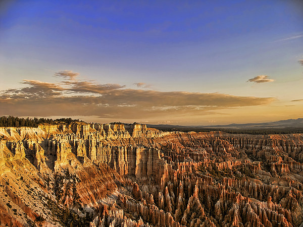 Bryce Canyon Sunrise Canvas print by Anne Rodkin