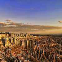 Buy canvas prints of Bryce Canyon Sunrise by Anne Rodkin