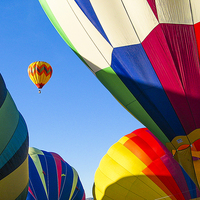 Buy canvas prints of Socorro Balloon fiesta by Steven Ralser