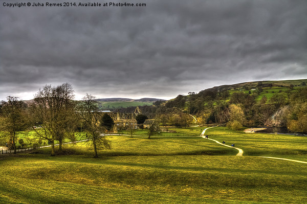 Bolton Abbey and Yorkshire Dales Canvas Print by Juha Remes